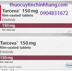 Giá thuốc Tarceva 150mg thuốc điêu trị đích tarceva