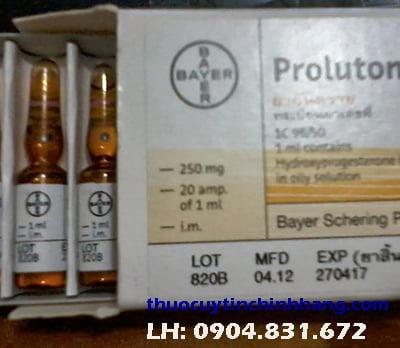 giá thuốc Proluton, thuốc proluton giá bao nhiêu?