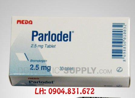 Thuốc parlodel mua ở đâu, giá bao nhiêu