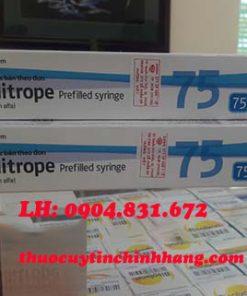 giá thuốc kích trứng follitrope 75