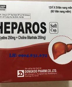 thuốc heparos là thuốc gì