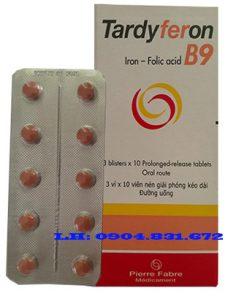 Giá thuốc Tardyferon B9