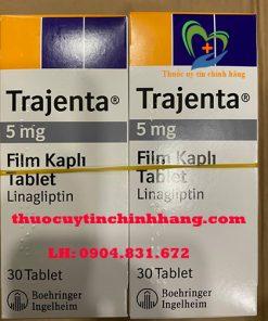 Thuốc Trajenta 5mg giá bao nhiêu