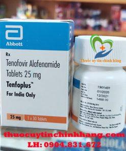 Thuốc Tenfoplus 25mg giá bao nhiêu