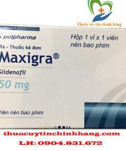 Thuốc Maxigra giá bao nhiêu