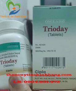 Thuốc Trioday giá bao nhiêu