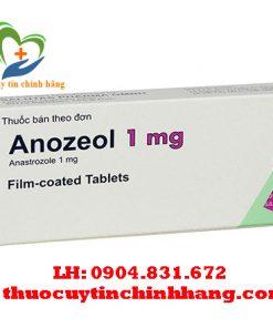 Thuốc Anozeol 1mg giá bao nhiêu