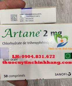 Thuốc Artane giá bao nhiêu
