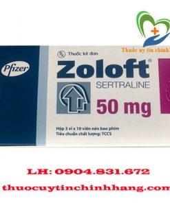 Thuốc Zoloft giá bao nhiêu